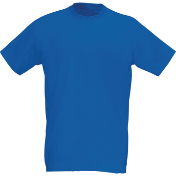 T-Shirt, royalblau, Gr. 2XL